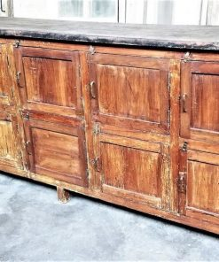Robust Vintage Workbench / Sideboard / Kitchen Unit-1