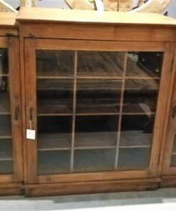 Antique Low Cabinet / Sideboard With Compartments-1
