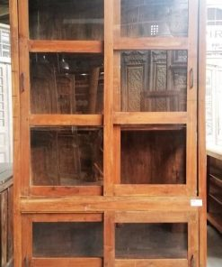 Antique Showcase Cabinet-1