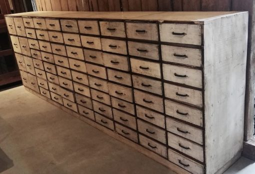 Antique White Chest of drawers-2
