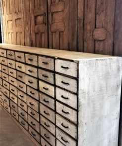 Antique White Chest of drawers-3