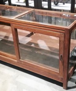Antique Low Display Case Cupboard / Counter-2