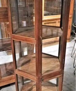 Antique 6 Angled Display Case-2