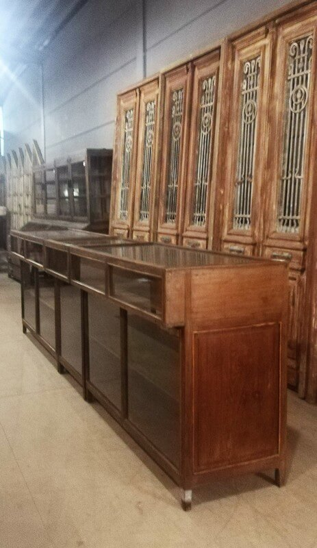 Antique Display Case Counter-4