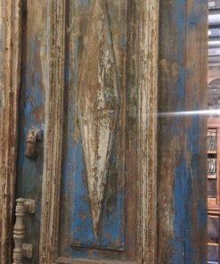 Antique Blue Exterior Doors-2