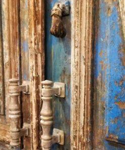 Antique Blue Exterior Doors-3