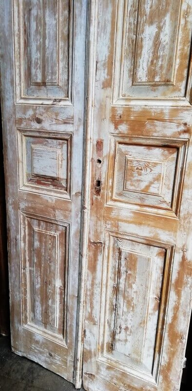 Antique Double Panel Doors-4
