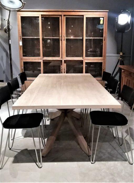 Acacia Natural Color Dining Table-1