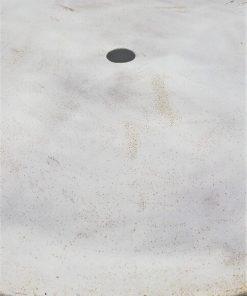 Witte Ronde Ijzeren Bistro Tafel-3