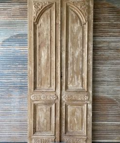 Antique Double Front Door-1