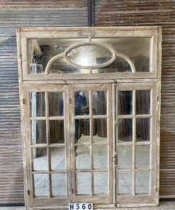 Antique Window With Mirrors-1