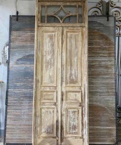 Antieke Paneeldeuren In Kozijn-1