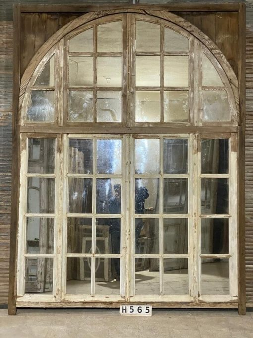 Antique Deco Windows With Mirrors-1