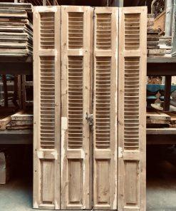 Antieke louvre luiken / deuren hxb 203×110 cm va empirebest bv